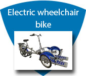 Electric Wheelchair Bicycle