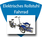 Elektro-Rollstuhl Fahrrad