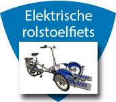Elektrische rolstoelfiets huren